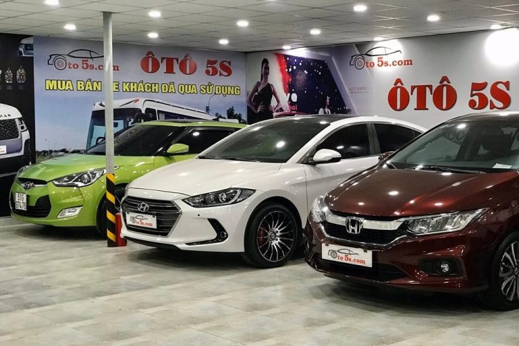 Thu mua xe ô tô cũ tại Tp HCM giá cao