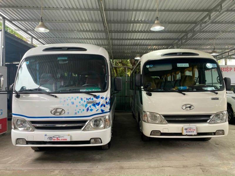 Thu mua xe Hyundai County 29 chỗ toàn quốc