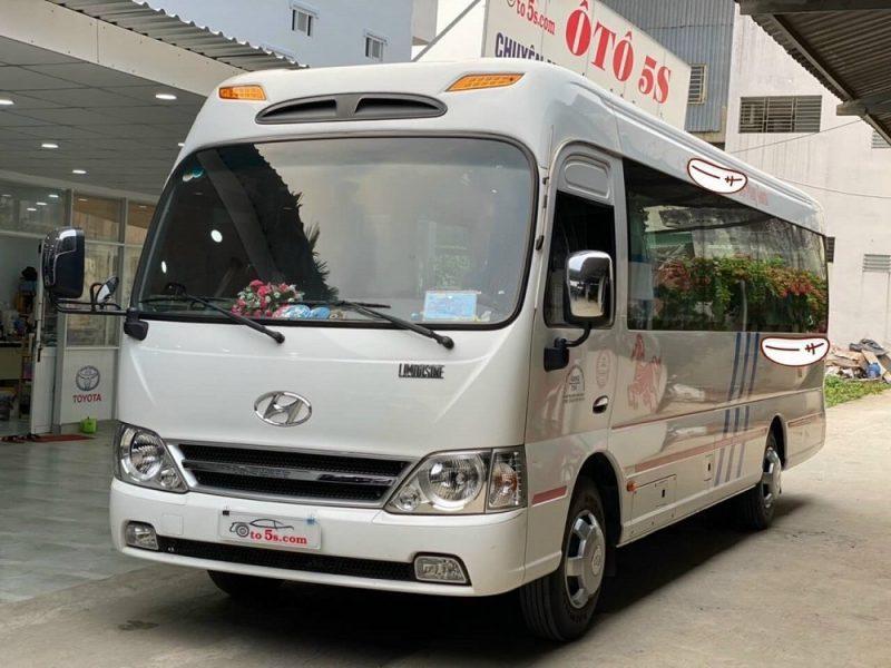 Thu mua xe khách Hyundai County 29 chỗ cũ