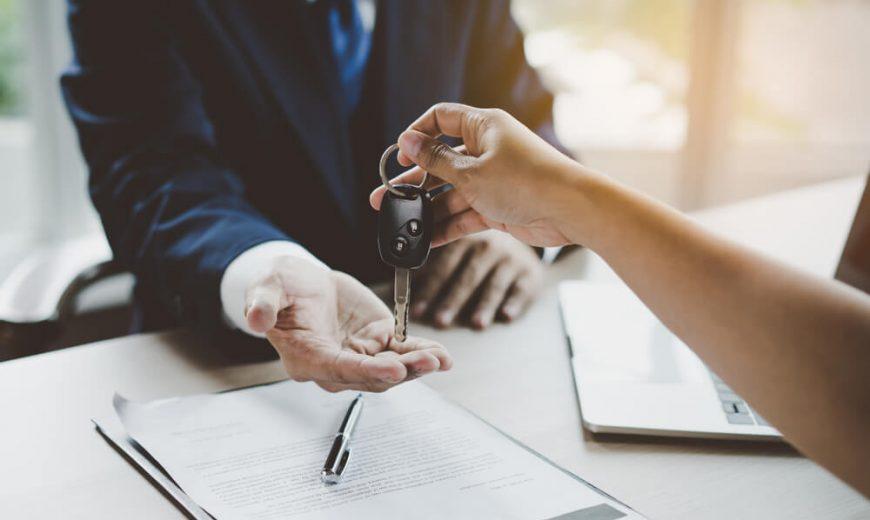 Thủ tục mua xe ô tô công ty